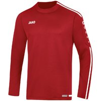 Sweat STRIKER 2.0 Sweatshirt chili rot-weiß 128 bis 2XL