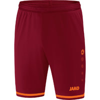 Sporthose STRIKER 2.0 Shorts weinrot-neonorange 116 bis 2XL