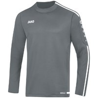 Sweat STRIKER 2.0 Sweatshirt steingrau-weiß 128 bis 2XL