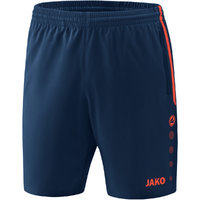 Shorts COMPETITION 2.0 Sporthose navy-flame 128 bis 4XL - Damen 34 bis 44