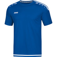 Trikot STRIKER 2.0 KA kurzarm royal-weiß 116 bis 4XL - Damen 34 bis 44