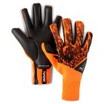 Future Grip 5.1 Hybrid Torwarthandschuhe orange-schwarz